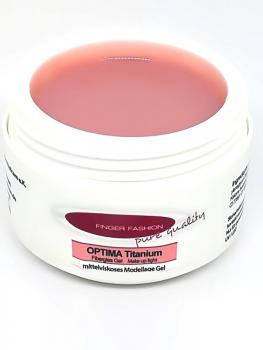 Optima Titanium Fiberglas Gel Make up light 30g