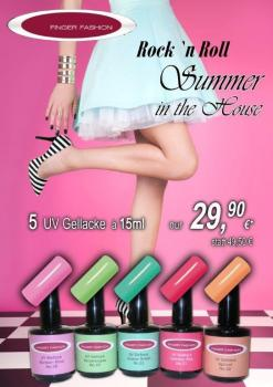 ROCK`N ROLL IN THE HOUSE - 5 x UV Gellack im 15ml