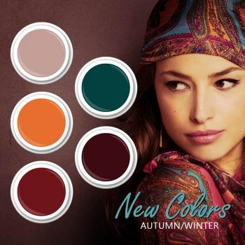 Herbst / Winter  Colors 2020  Set  5 x 5g