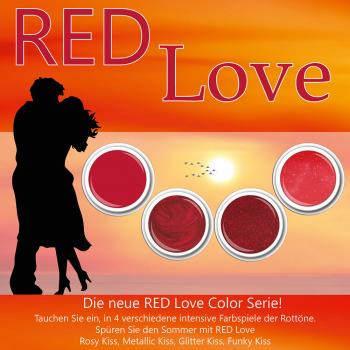 Red Love Color Set 4 x 5g