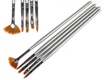 Pinsel Malerei One Stroke  5er SET
