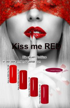 Kiss me RED Set    4x 5 ml