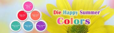 Die Happy Summer Colors 6 x 5g